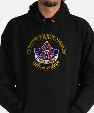DUI - 224th USA Security Agency Bn Hoodie (dark)