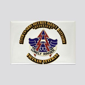 DUI - 224th USA Security Agency Bn Rectangle Magne