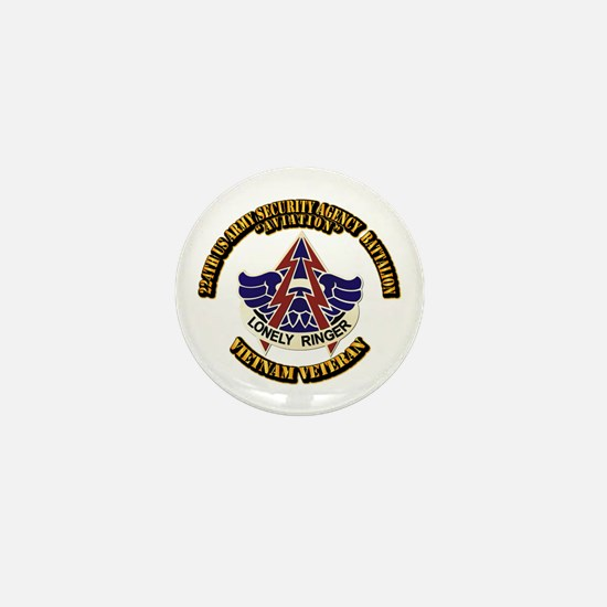 DUI - 224th USA Security Agency Bn Mini Button