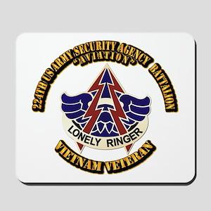 DUI - 224th USA Security Agency Bn Mousepad