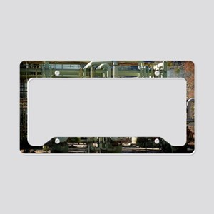 Oil Refinery License Plate Holder