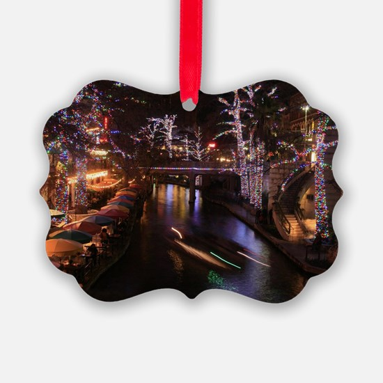 New Lights San Antonio Riverwalk  Ornament