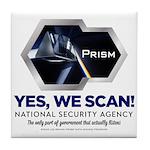 PRISM Parody Tile Coaster