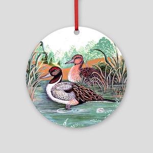 Pond Ducks Ornament (Round)