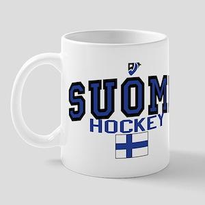 Finland(Suomi) Hockey Mug