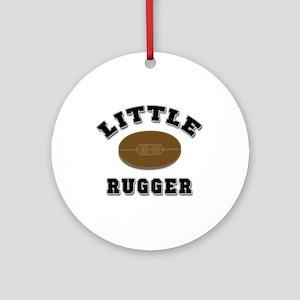 Little Rugger Ornament (Round)