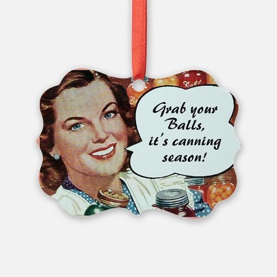 Vintage Canning Ornament
