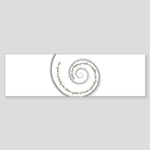 The Spiral and its ... Bumper Sticker