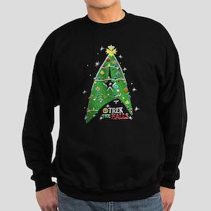 trek the halls sweatshirt