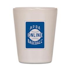 APBA Baseball Online Shot Glass