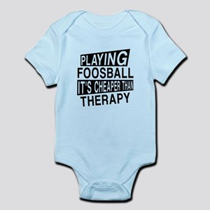 Awesome Foosball Player Designs Infant Bodysuit