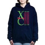 XC Run Light Green Scarlet Hooded Sweatshirt
