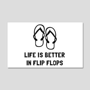 Better Flip Flop Wall Decal