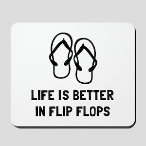 Better Flip Flop Mousepad