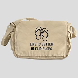 Better Flip Flop Messenger Bag