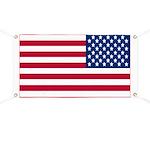 Reversed American Flag Banner