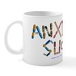 Anxiety Sucks! White Mugs