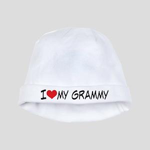 I Heart My Grammy baby hat