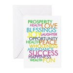 Bestest Wishes Greeting Cards (Pk of 20)
