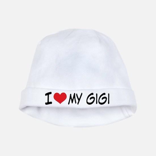I Heart My Gigi baby hat
