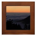 Sunset at Shelter Cove Framed Tile