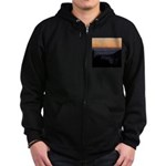 Sunset at Shelter Cove Zip Hoodie