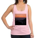 Sunset at Shelter Cove Racerback Tank Top