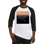 Sunset at Shelter Cove Baseball Jersey