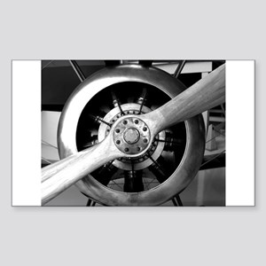 Wood Plane Prop Sopwith Camel Nosecone Sticker (Re