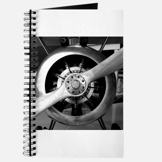 Wood Plane Prop Sopwith Camel Nosecone Journal
