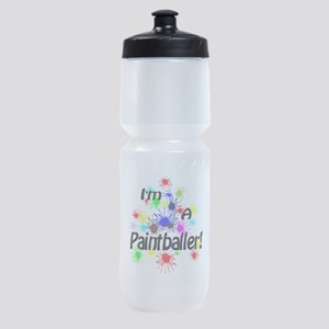 Paint Ball Design Sports Bottle