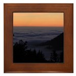 Sunset at Shelter Cove Framed Tile