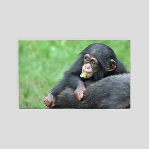 Chimpanzee005 3'x5' Area Rug