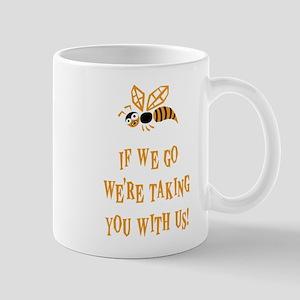 Bee With Us Mug