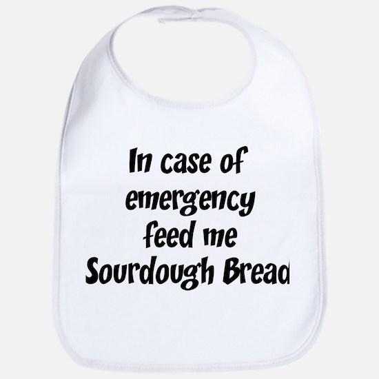 Feed me Sourdough Bread Bib