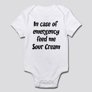 Feed me Sour Cream Infant Bodysuit
