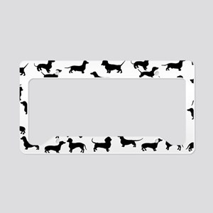 Dachshunds License Plate Holder