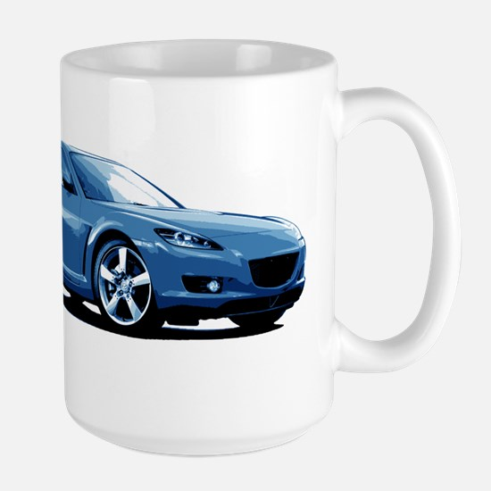 Blue RX-8 Mugs