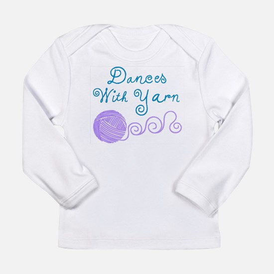 DancesWithYarnDark.png Long Sleeve T-Shirt