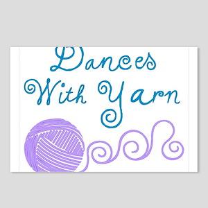 DancesWithYarnDark Postcards (Package of 8)