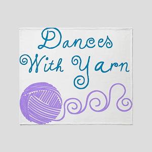 DancesWithYarnDark Throw Blanket