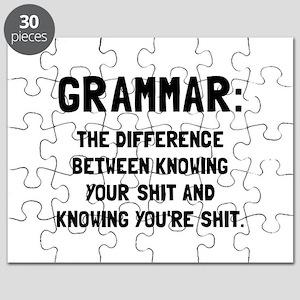 Grammar Shit Puzzle