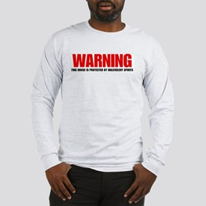 Warning House Long Sleeve T-Shirt