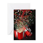 Christmas Present Explode Card