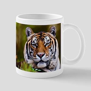 Tiger in Grass Mugs