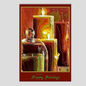Happy Holidays Holiday Light Postcards (8)