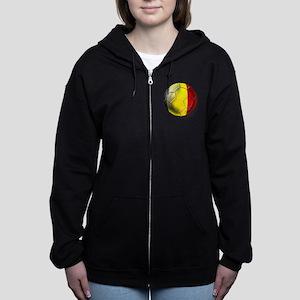 Belgium Football Zip Hoodie