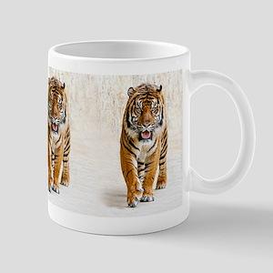 Tiger walking Mugs