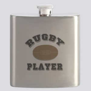 Rugby Player Flask