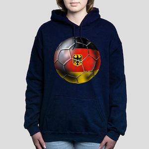 German Soccer Ball Hooded Sweatshirt